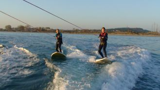 séance wake paddle