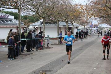 Arrivée de Cyril Clément après 18 km de Trail !!!